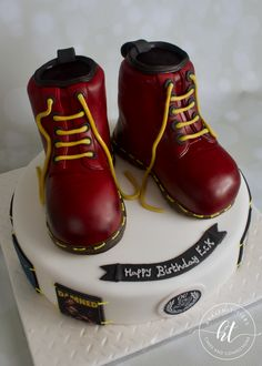 We produces delicious handmade and beautifully decorated cakes and confections for weddings, celebrations and events. Celebration Cakes, Handmade Wedding, Celebrity Weddings, Heavenly, Leather Boots, Combat Boots, Celebrities, Shoes, Fashion