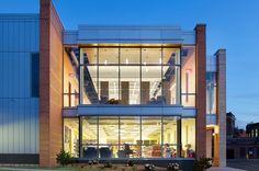 Athol Public Library by Tappé Architects, photo © Ed Wonsek. #wanawards #architecture #sustainability #USA