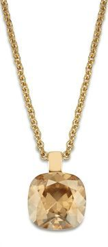 ShopStyle: House of Fraser Lola & Grace Square solitaire pendant £19.90