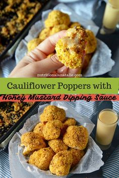 Cauliflower Poppers
