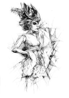 Fragments by Dave Merrell, via Behance