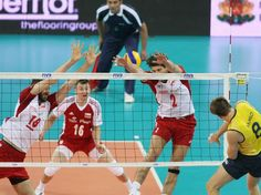 Poland vs Brazil, volleyball.