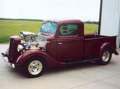 Homegrown Haulers Custom 1936 Ford Truck.