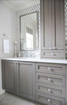 Elegant Master Bath Cabinet Ideas