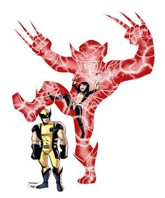 Armor Taunts the Wolverine by ~caanantheartboy on deviantART