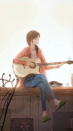 New Illustration Art Drawing Girl Beautiful Ideas Art Anime Fille, Anime Art Girl, Anime Girls, Photographie Portrait Inspiration, Art Mignon, Girly Drawings, Illustration Art Drawing, Drawing Art, Digital Art Girl