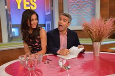 Photos: Monday, It's a 'Meta Moment' – Andy Cohen is Here! Andrew Cohen, Bethenny Frankel, Thanks For The Memories, Role Models, Love Story, Famous People, Respect, Movie Tv, Crime