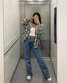 Basic Outfits, Teen Fashion Outfits, Mode Outfits, Retro Outfits, Cute Casual Outfits, Summer Outfits, Girl Outfits, Looks Pinterest, Mein Style
