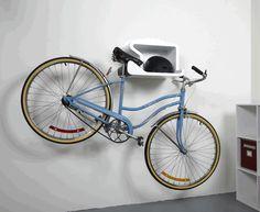 なんか、かっこいい。 スタイリッシュな自転車シェルフ『Shelfie』