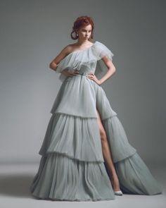 Свадебные и вечерние платья Alfazairy 2018