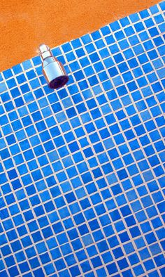 Orange & Blue...could do blue backsplash to go with our orange countertops