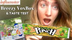 Influenster Breezy VoxBox | Sour Punch Taste Test