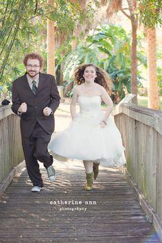 #USF Botanical Gardens wedding.