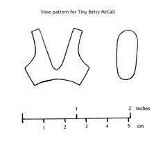 Fashion Doll Shoes: Set of shoes for Tiny Betsy McCall