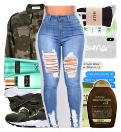 """Untitled #530"" by kklbarnes ❤ liked on Polyvore featuring Faith Connexion, NIKE, Organix, Victoria's Secret, Rebecca Minkoff and Dove"