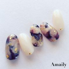 Pin on ネイル Pin on ネイル Trendy Nail Art, Cute Nail Art, Stylish Nails, Marble Nail Designs, Marble Nail Art, Nail Art Designs, Love Nails, Fun Nails, Gorgeous Nails