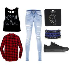 Edgy outfit