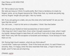 [TRANS] Haru*Hana Vol 30 #BTS Rap Monster (cr. mji54)