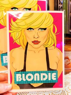 Blondie Art Print | Original Art | Debbie Harry | Pop Art | Wall Art | 5x7 | 8x10 - 5x7
