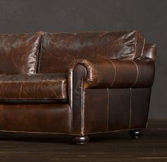 Lancaster Leather Sofa Restoration Hardware, This Website Has Some Things  That Would Look Good.