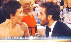 Pin for Later: 32 Times Stars Pulled on Your Heartstrings This Award Season Maggie and Jake Gyllenhaal were like two very excited kids. It was so cute to see their night unfold.