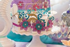 Little Mermaid Birthday Party Ideas   Photo 1 of 44   Catch My Party