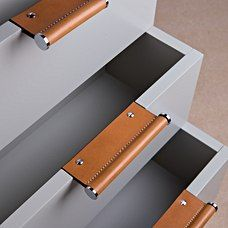 Turnstyle Designs - Edge Wing Scroll launching this Febraury 2018 Poignées cuir Furniture Handles, Leather Furniture, Cheap Furniture, Furniture Decor, Furniture Design, Furniture Stores, Office Furniture, Furniture Dolly, Furniture Market