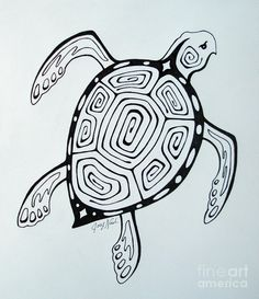 Joey's Sea Turtle Drawing by Joey Nash - Joey's Sea Turtle Fine Art Prints and Posters for Sale
