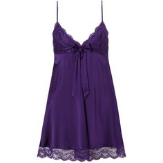 Myla Purple Isabella Babydoll (295 BRL) ❤ liked on Polyvore featuring intimates, sleepwear, nightgowns, pajamas, lingerie, pijamas, dresses, purple, baby doll lingerie и bow lingerie