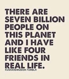 Real life friends