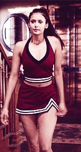 elena gilbert cheerleader gif - Google Search