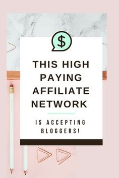 This high paying affiliate network is currently accepting bloggers! Work with brands, get sponsored blog posts, make money blogging, make money online. High payouts.