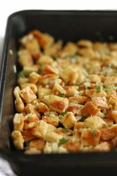 This Gluten Free & Keto Fathead Stuffing is the Perfect Side Dish for the Holidays! The Easy Keto Stuffing Tastes Just Like Traditional Bread Stuffing. Keto Stuffing, Stuffing Recipes, Turkey Stuffing, Low Carb Keto, Low Carb Recipes, Healthy Recipes, Ww Recipes, Keto Holiday, Keto Bread