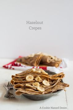♥ hazelnut crepes