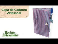 Capa de Caderno Artesanal - Linda e Fácil de Fazer - YouTube