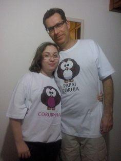 Papai Coruja e Corujinha !!! By Silkstars