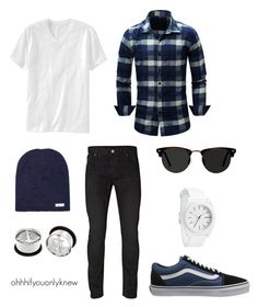 """Untitled #238"" by ohhhifyouonlyknew on Polyvore featuring Jack & Jones, Old Navy, Ace, Nixon and Neff"