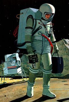 Sometimes even spacemen hate their jobs.