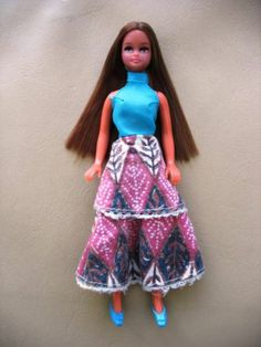 Vintage Pippa Doll MARIE with Original Outfit & Shoes Palitoy, Dawn | eBay