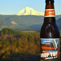 Beer with a view - Mount Hood, Oregon