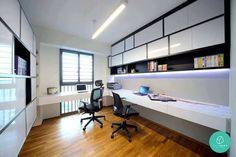 「singapore modern study room design\」の画像検索結果