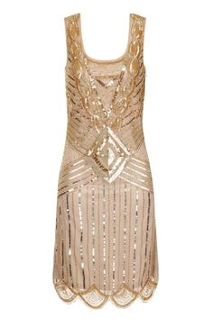 Gold Sequins Gatsby Gown €189.99 We are absolutely in love with this brand new Gatsby inspired dress and this time it comes in gold! This gorgeous dress is vintage inspired and features a full embellished front and back with a scalloped hem. The dress is utterly flattering and will look amazing for any occassion. Style simply to allow focus to stay on this stunning dress. - See more at: www.lilycoo.com