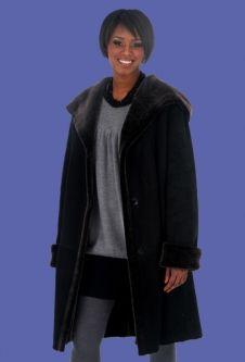 Leanne Women's Shearling Swing Coat | kayla's coat | Pinterest ...