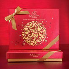 ゴディバ(GODIVA), Holiday チョコレート & トリュフ コレクション - 32 チョコレート 13.7 oz(海外直送品) [並行輸入品]