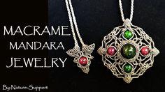 macrame mandara jewelry