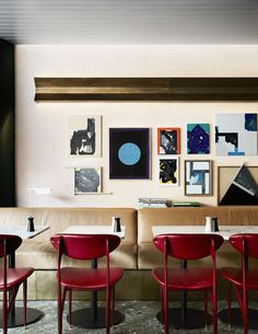 The talented David Flack of Flack Studio won Best Work with Colour at the Belle Coco Republic Interior Design Awards 2017 Australian Interior Design, Interior Design Awards, Commercial Interior Design, Commercial Interiors, Architecture Restaurant, Hotel Restaurant, Restaurant Design, Interior Architecture, Restaurant Interiors