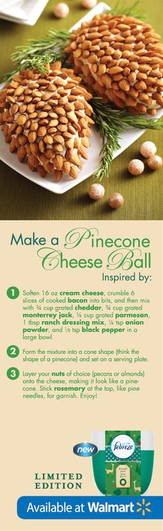 This idea will take your holiday cheese recipes to the next level! #FebrezeHoliday
