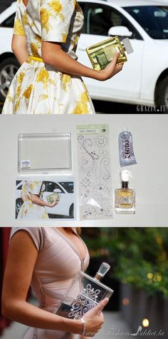 Let's Get Crafty: 2 step DIY Lucite Perfume Clutch