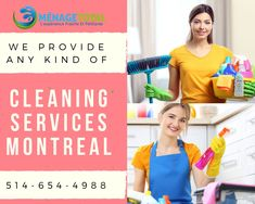 Cleaning Services Montreal company provides Commercial cleaning And Residential Cleaning In Montreal, Laval, Longueuil, South Shore And North Shore. Residential Cleaning Services, House Cleaning Services, Maid Cleaning Service, Good House, Clean House, Montreal