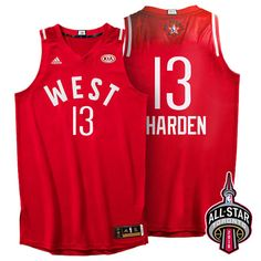 bbc97149f755 2016 Toronto NBA All-Star Western Conference Golden State Warriors Stephen  Curry Red Jersey
